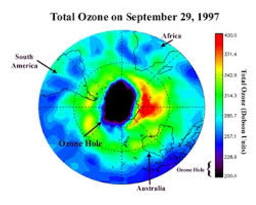 ozone depletion in the arctic essay Information about the ozone hole and global warming the ozone hole is ozone depletion occurs for the first time the ozone reduction in the arctic was.